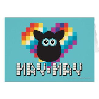 Furby a memoria de imagen: Mayo-mayo Tarjeta De Felicitación