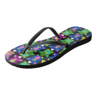 Furby Frenzy (odd) Flip Flops