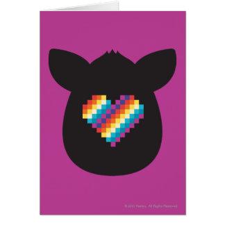 Furby Heart Card