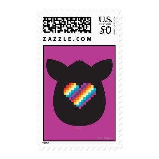 Furby Heart Postage