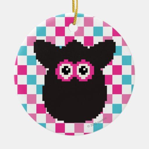 Furby Icon Ceramic Ornament
