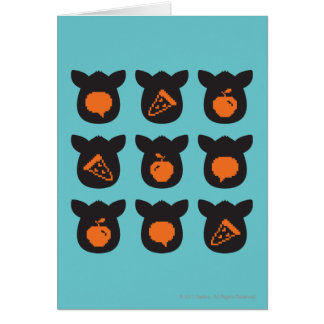 Furby Icons Card