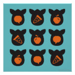 Furby Icons Poster