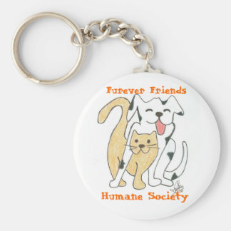 Furever Friends Humane Society Key Chain