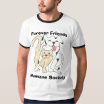 Furever Friends Humane Society logo tee