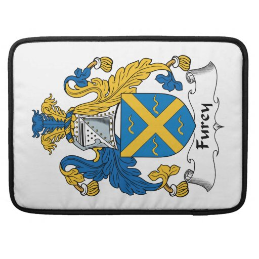 Furey Family Crest Sleeve For MacBooks