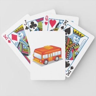furgoneta baraja de cartas