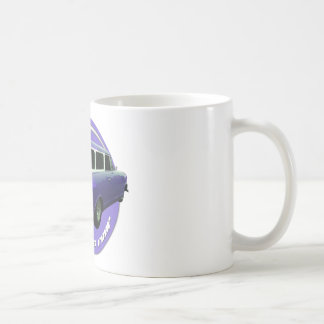 furgoneta larga de la uva del tejado del nash tazas de café