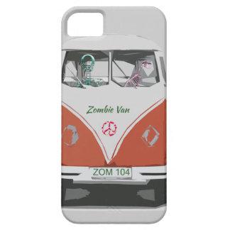Furgoneta linda del zombi con las cubiertas del funda para iPhone SE/5/5s