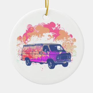 furgoneta retra del hippie del grunge