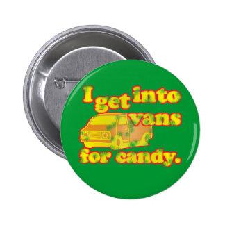 Furgonetas para el caramelo pins