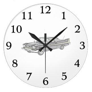 Furia 1958 de Plymouth Reloj De Pared