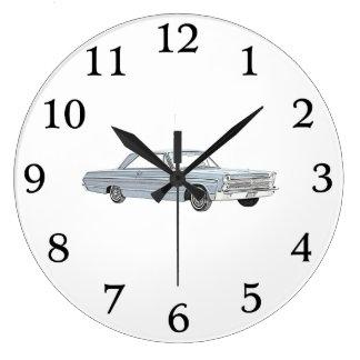 Furia 1965 de Plymouth Relojes De Pared