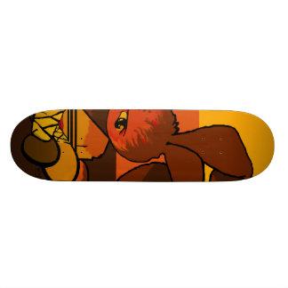 furia del conejito del shaolin del hierro skate board