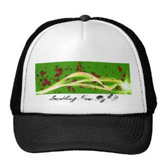 Furia verde gorros bordados