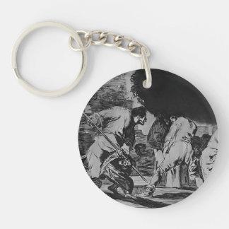 Furioso dispar de Francisco Goya- Llavero