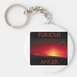 Furious Anger Keychain