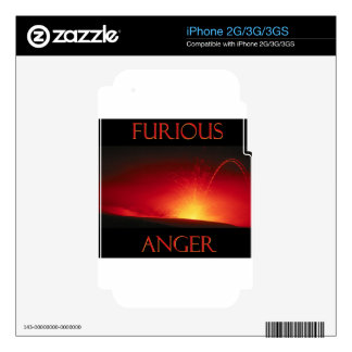 Furious Anger Decals For The iPhone 2G