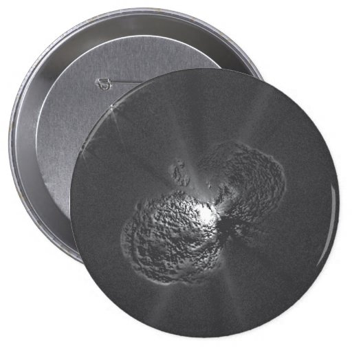 Furious Expansion of Eta Carinae Debris Pinback Button