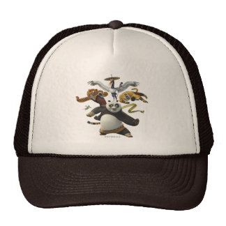 Furious Five Pose Trucker Hat