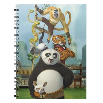 Furious Five Stacked Notebook by kungfupanda at Zazzle