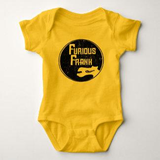 Furious Frank Yellow & Black Baby Bodysuit