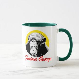 Furious George T-shirt Mug