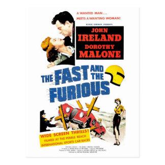 Furious (las 1955) postales rápida y