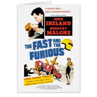 Furious (las 1955) tarjetas rápida y