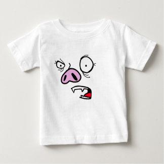 Furious pig face baby T-Shirt