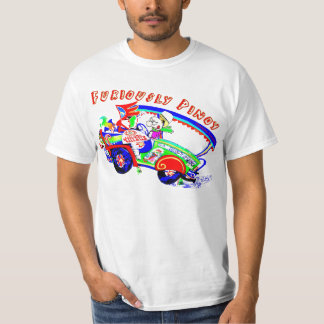 Furious Pinoy driving a Philippine jeepney T-Shirt
