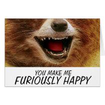 FURIOUSLY HAPPY card