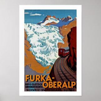 Furka-Oberalp Switzerland Poster