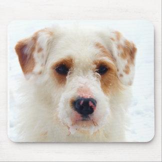 Furlock Holmes - Snow Puppy Mouse Pad