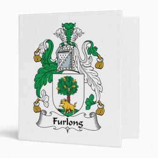 Furlong Family Crest 3 Ring Binder