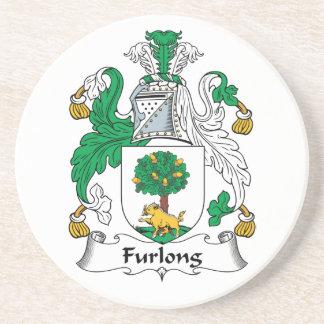 Furlong Family Crest Beverage Coaster