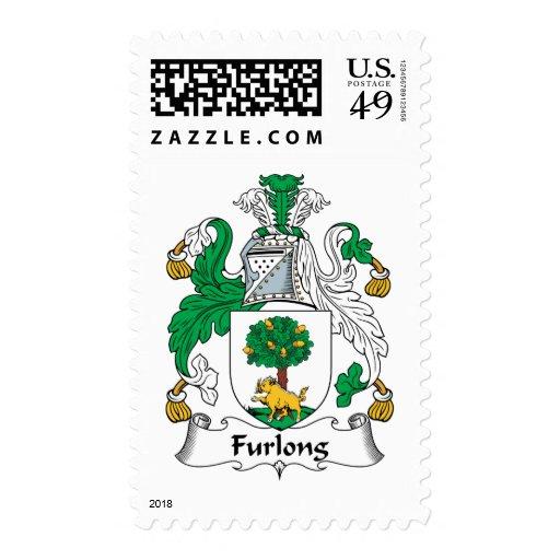 Furlong Family Crest Postage Stamp