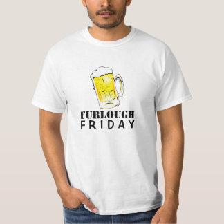 Furlough Friday Beer Mug Value T-Shirt