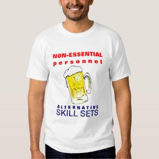 Furloughed Beer Drinking Funny Tshirt