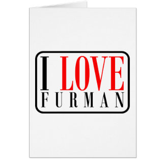 Furman Alabama Greeting Cards
