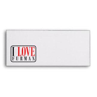 Furman Alabama Envelopes