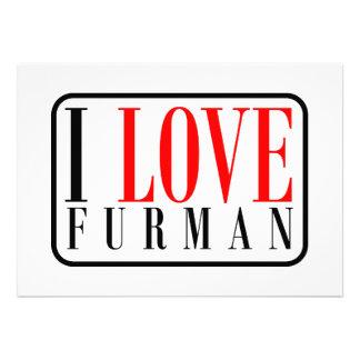Furman Alabama Personalized Invite