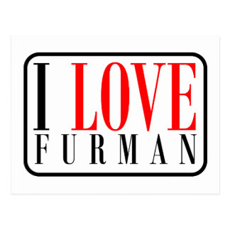 Furman Alabama Post Card