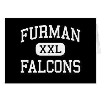 Furman - Falcons - High School - Madera California Greeting Card