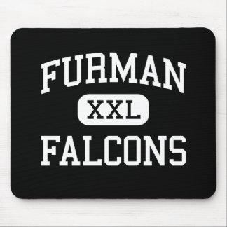 Furman - Falcons - High School - Madera California Mouse Pad