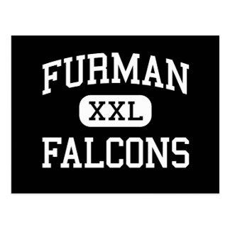 Furman - Falcons - High School - Madera California Post Card