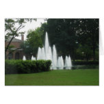 Furman Fountains Greeting Cards