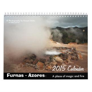 Furnas, Azores - calendario 2015
