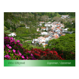 Furnas - Azores Post Card