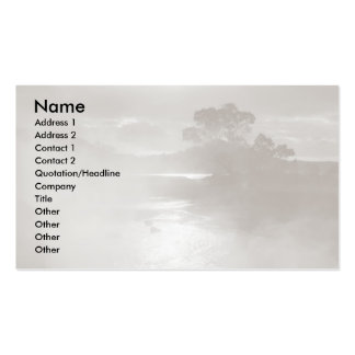 Furnas hot springs Double-Sided standard business cards (Pack of 100)